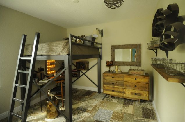 Bunk Bed with Desk wonderful wooden design for loft bed