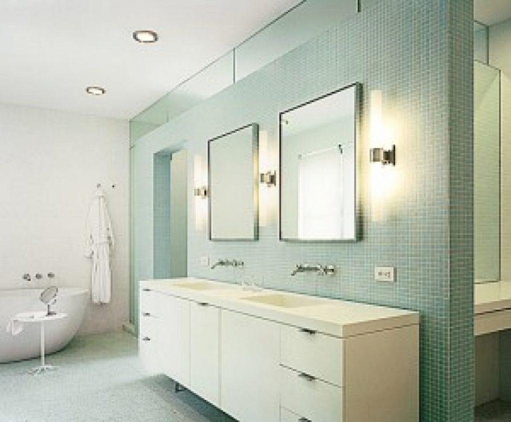 Vanity bathroom lighting ideas