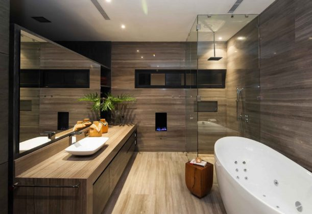 Smallest Bathtub Size-Bathroom design in a private home