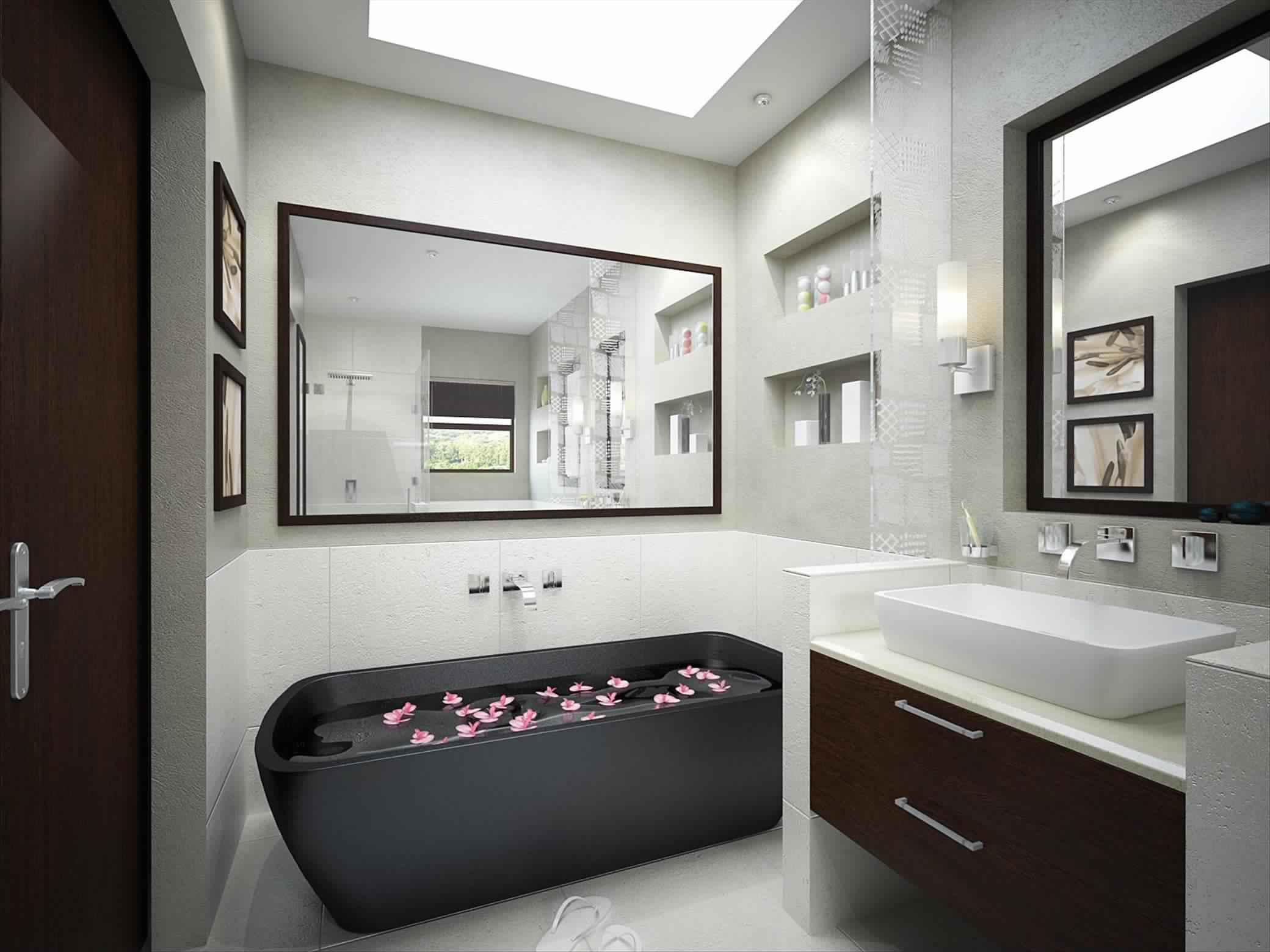 Smallest Bathtub size-beautiful black desgin