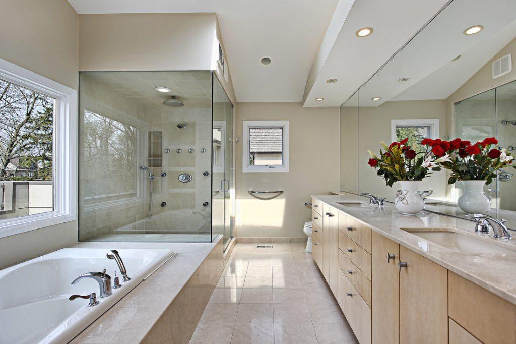 recessed bathroom lighting ideas