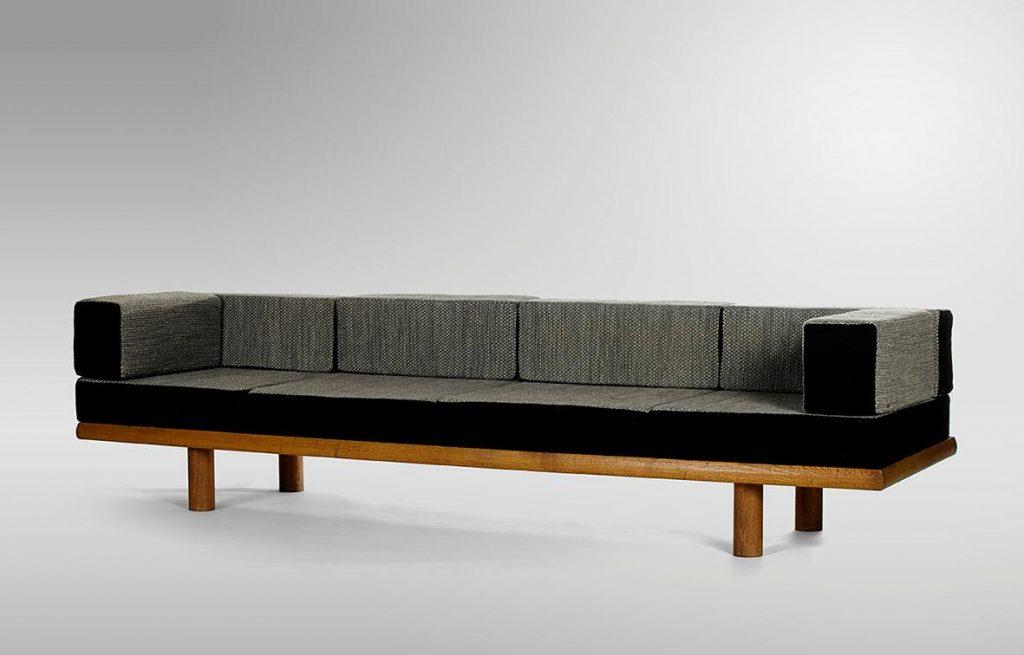 Charlotte Perriand Mid century living room designer