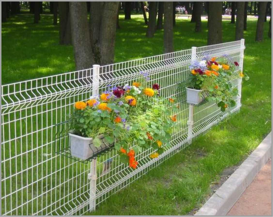 Privacy Fence Ideas-Fences 3D to protect lawns