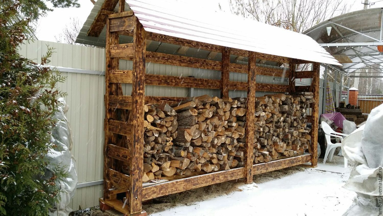 Diy Outdoor Firewood Rack Ideas And Designs For 2018