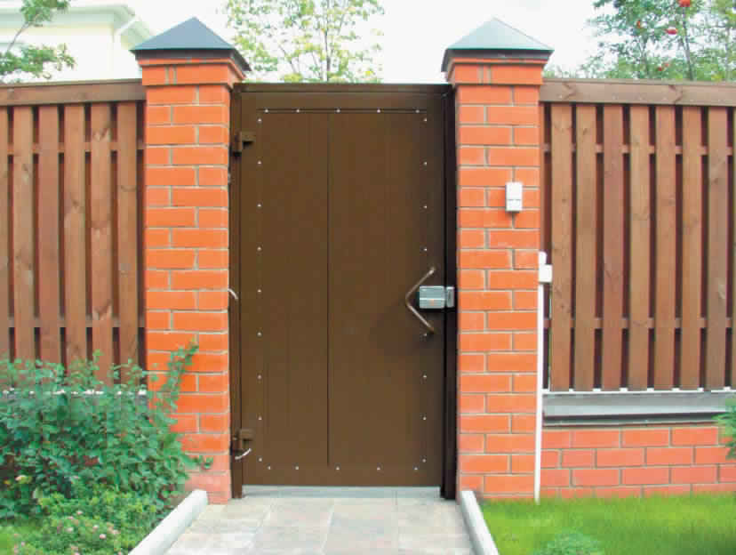 Privacy Fence Ideas-Interior and entrance fence