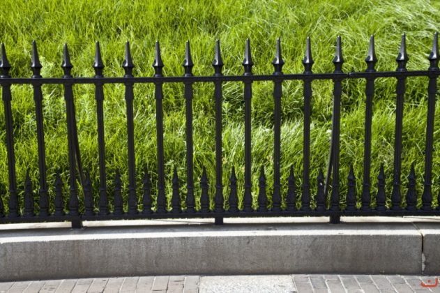 Privacy Fence Ideas-Iron Fence