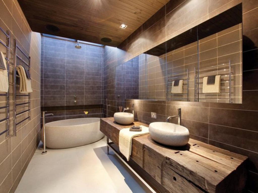 Smallest Bathtub size-modern bath design