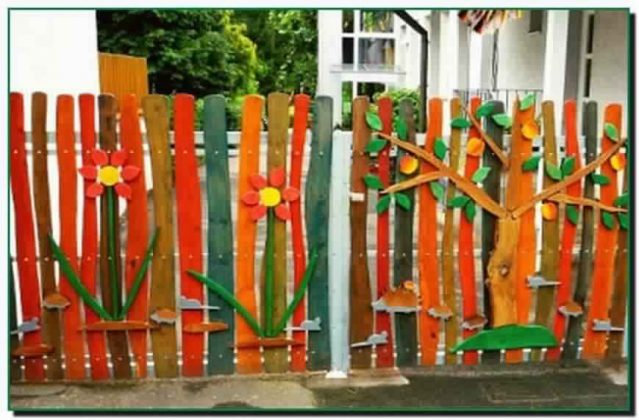 Privacy Fence Ideas-Recipe paints for wooden fence