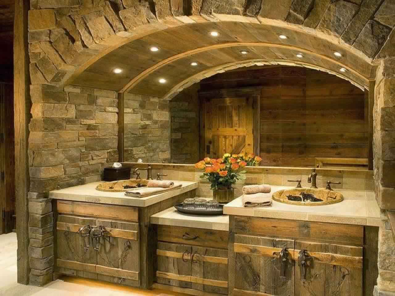 Rustic Bathroom Ideas-Remodeling Bathroom