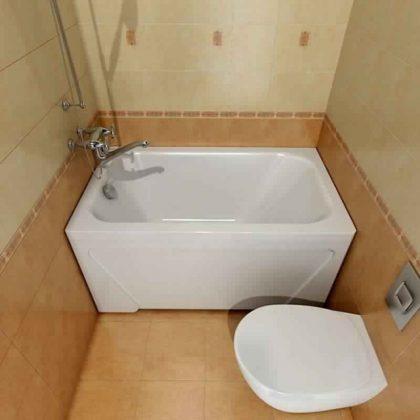 Smallest Bathtub Size-Small acrylic bath