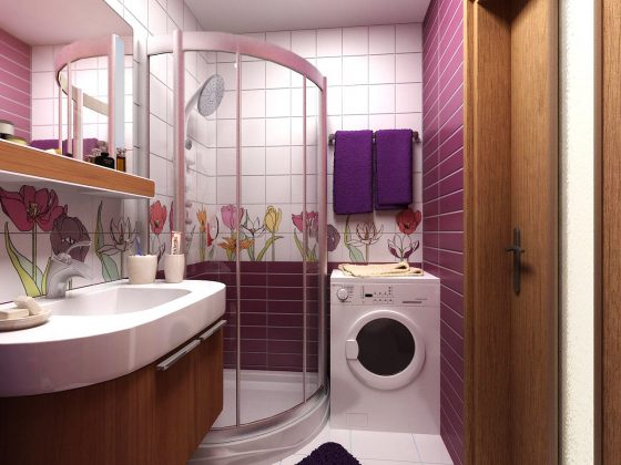 Smallest Bathtub Size-Small bathroom design