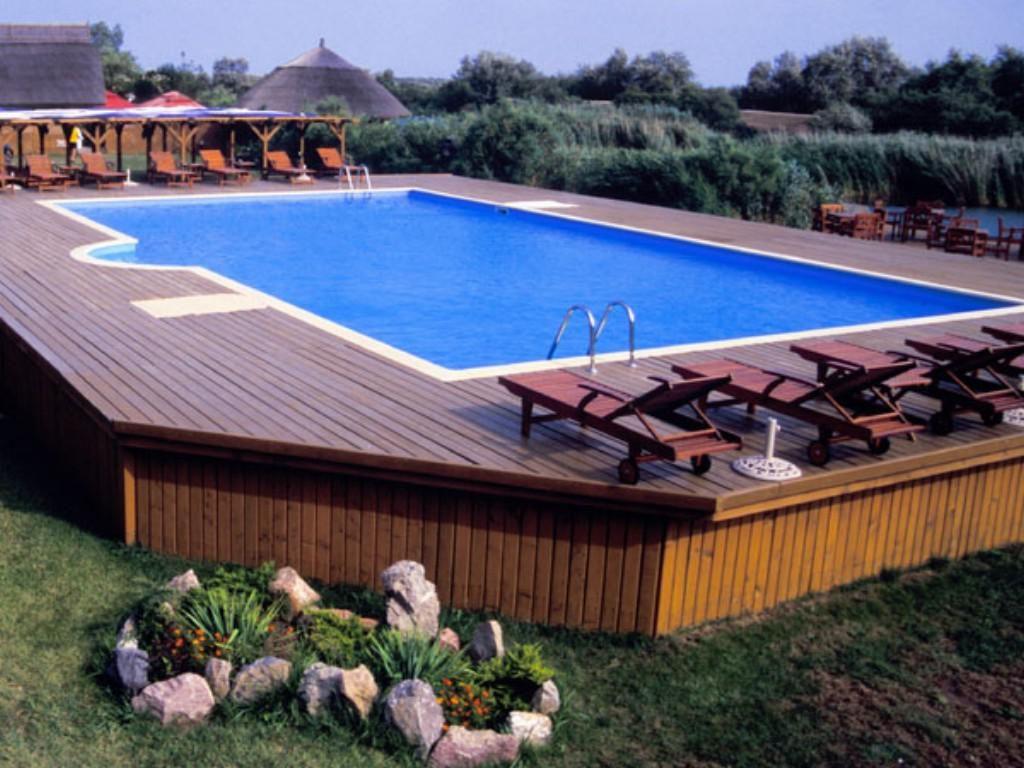 above ground pool ideas pinterest