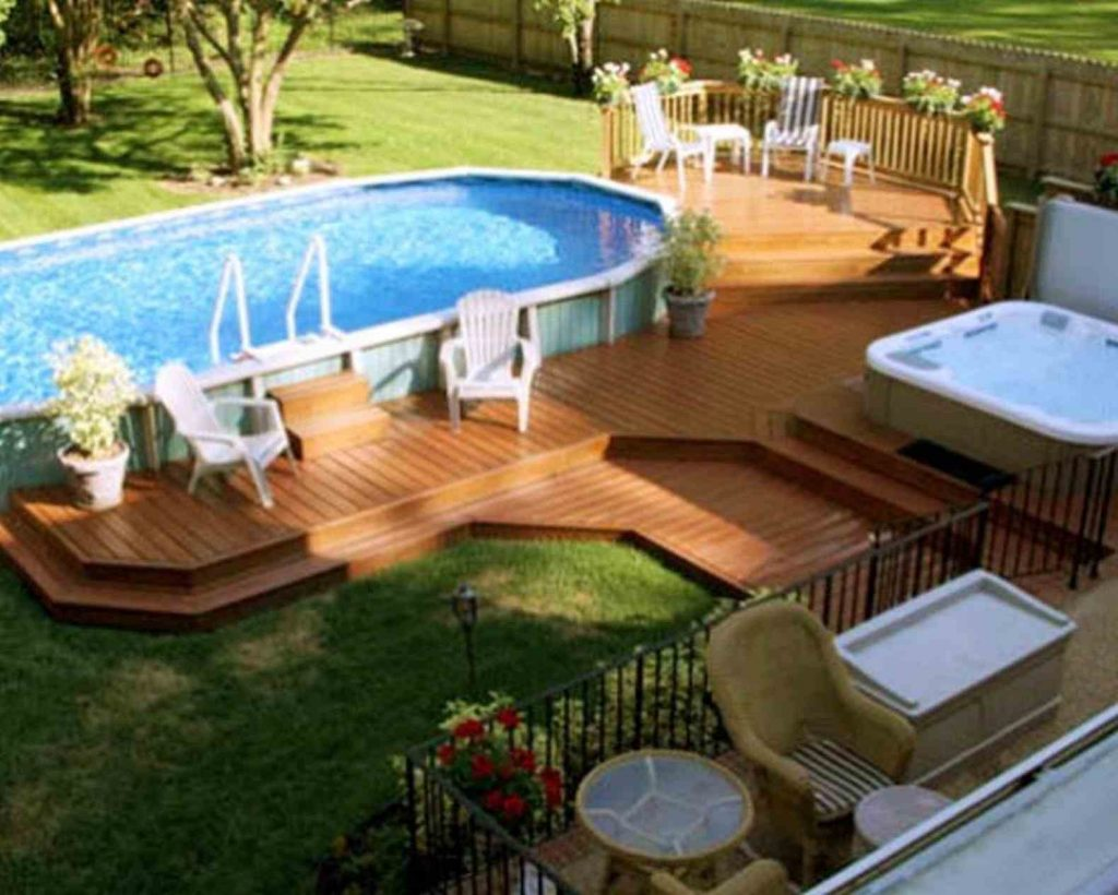 above ground pool ideas gallery