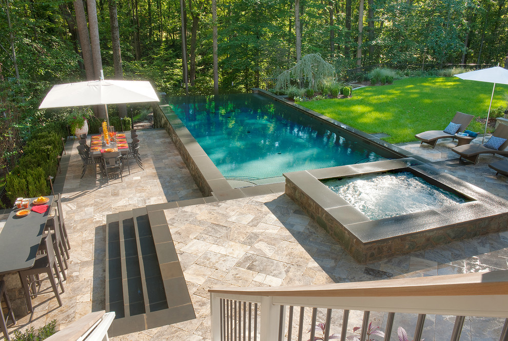 above ground pool ideas with deck