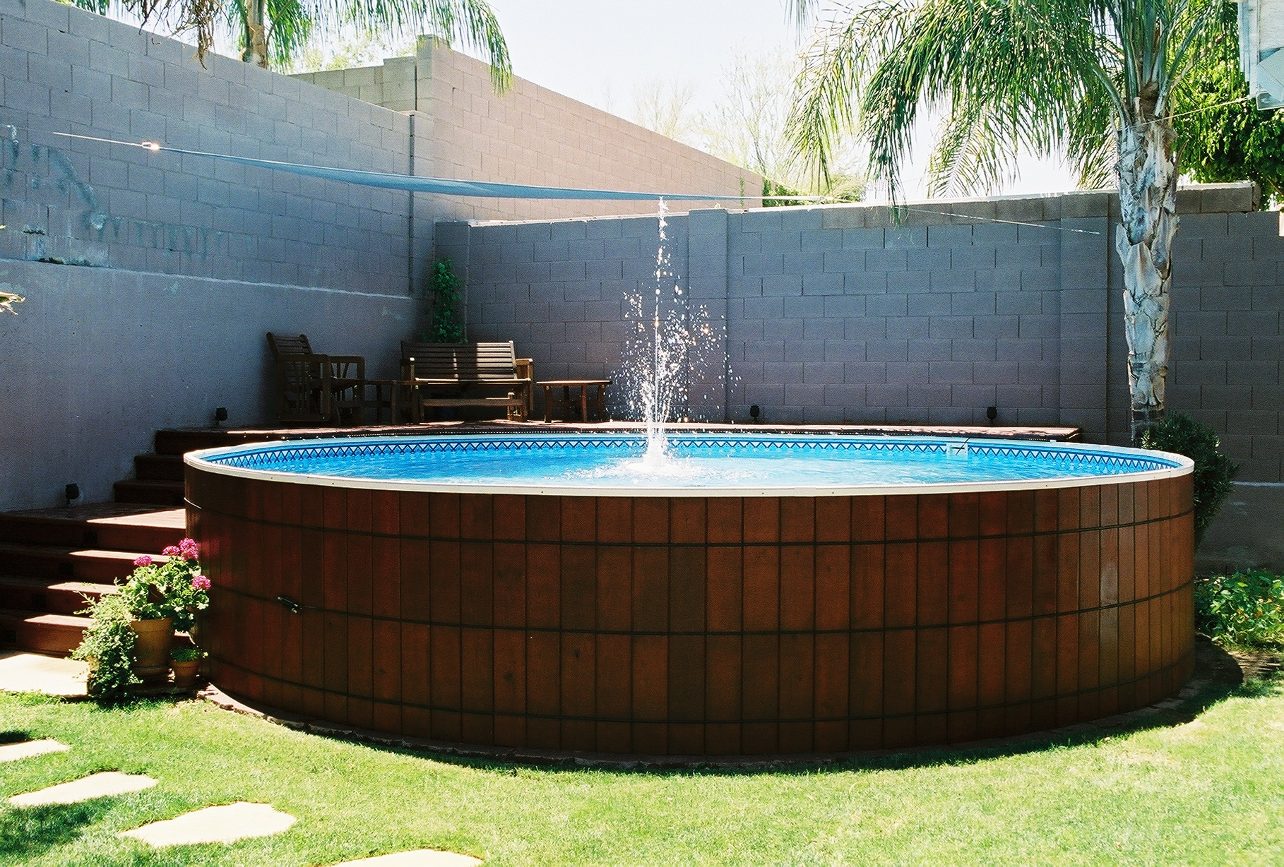 2018 best above ground pool ideas with building tips decor or design. Black Bedroom Furniture Sets. Home Design Ideas