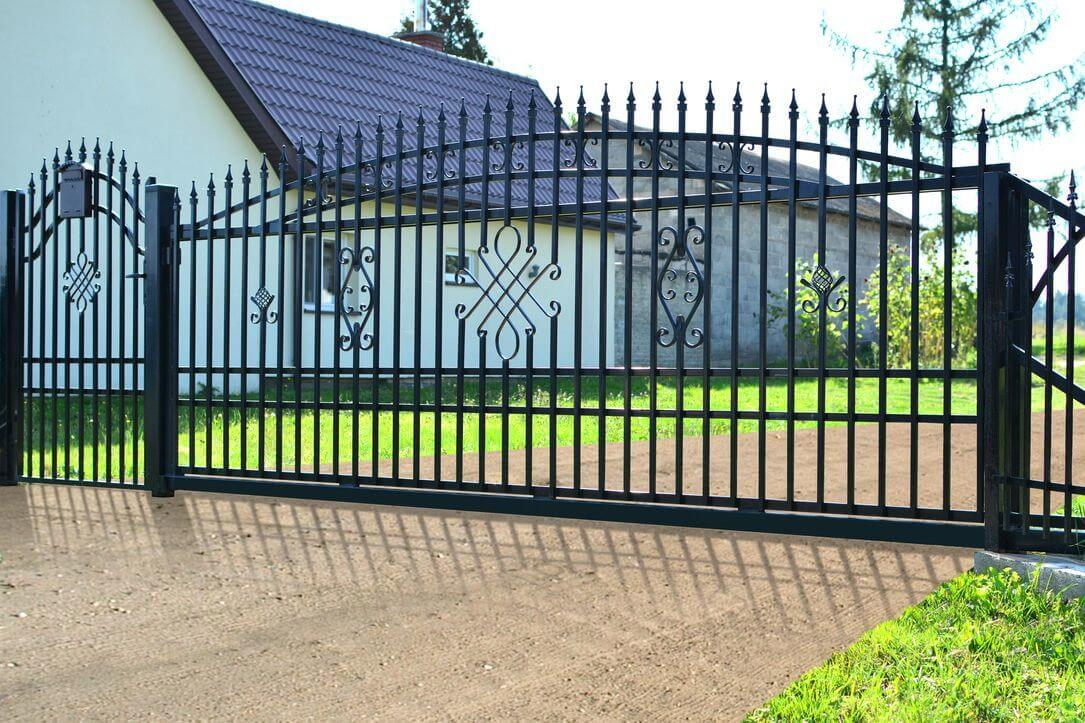 Privacy Fence Ideas-affordable metal fence