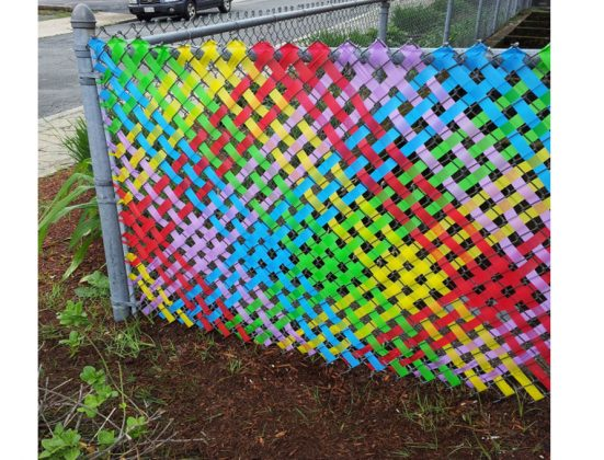 Privacy Fence Ideas-beautiful fence at the cottage