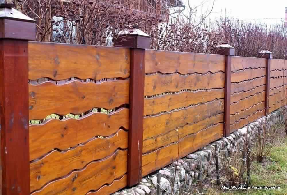 Privacy Fence Ideas-beautiful fence made of wood