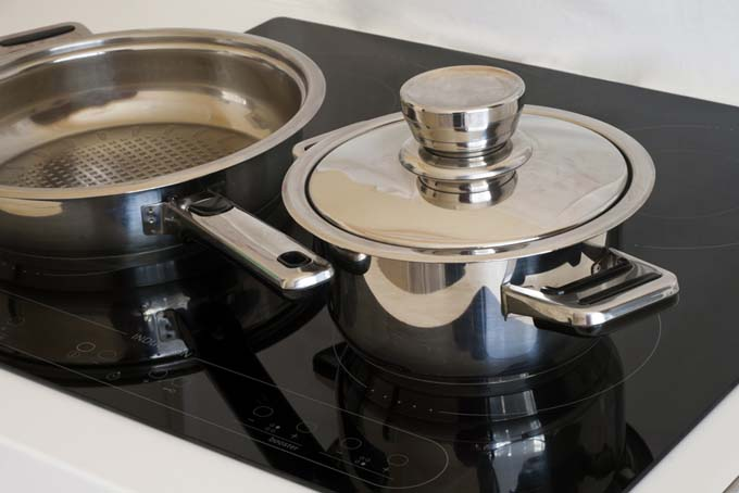 best induction cookware size