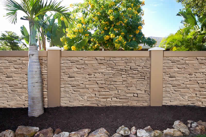 Privacy Fence Ideas-concrete fence
