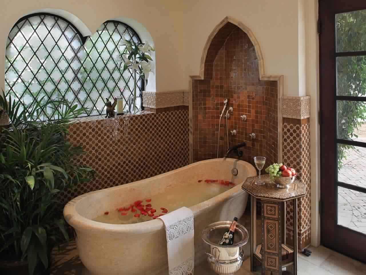 Rustic Bathroom Ideas-design ideas for bathroom Mediterranean style