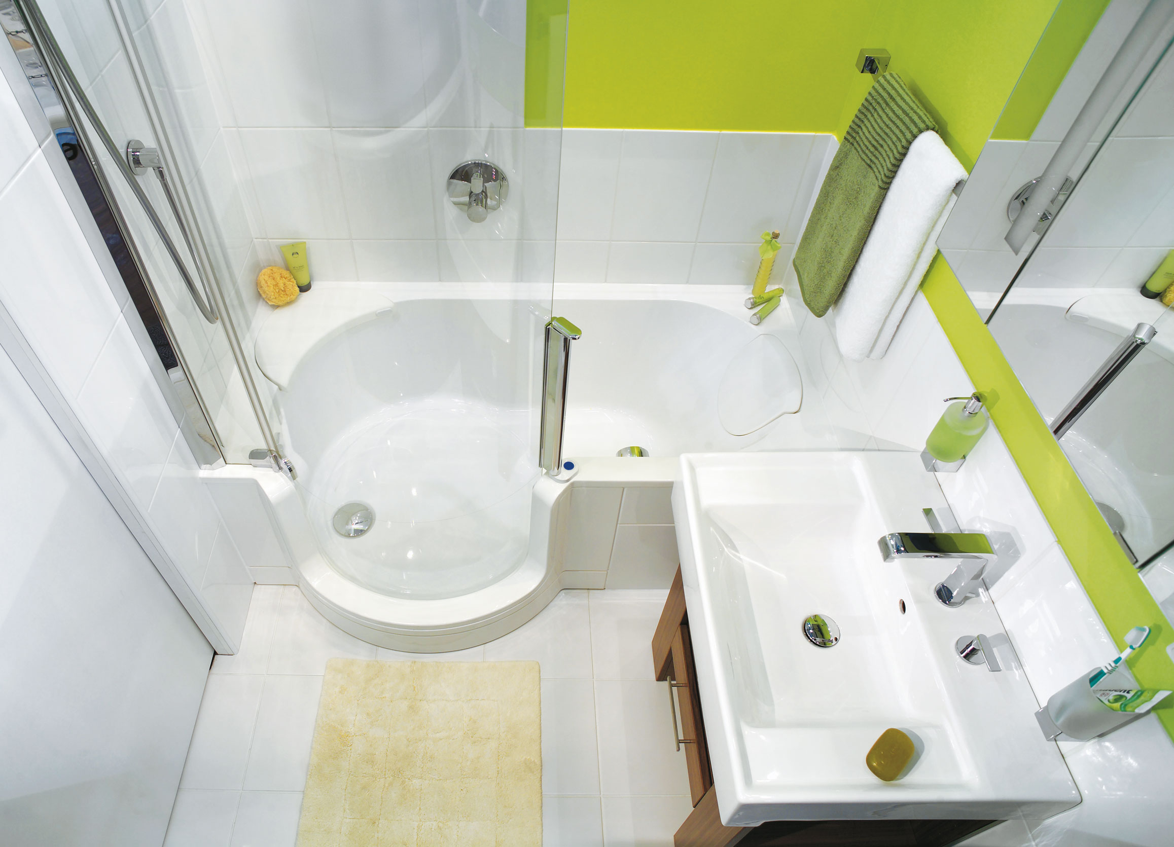 Smallest Bathtub Size- samll designs