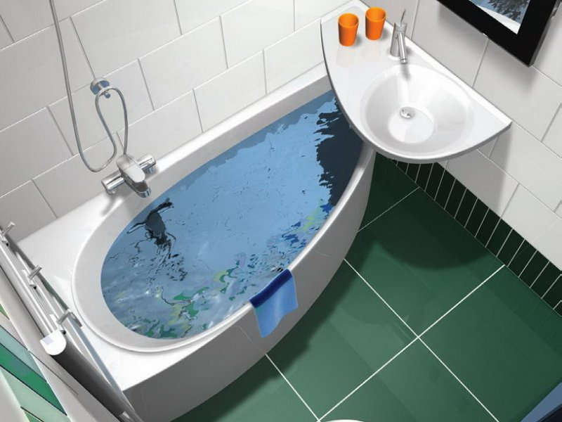 Smallest Bathtub Size-design small bathroom