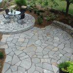 flag stone patio designs and patterns