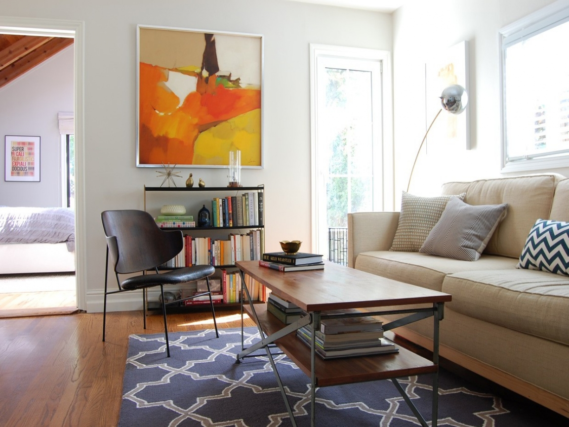 2018 Mid-Century Living Room Decor, Designs, and Ideas ...