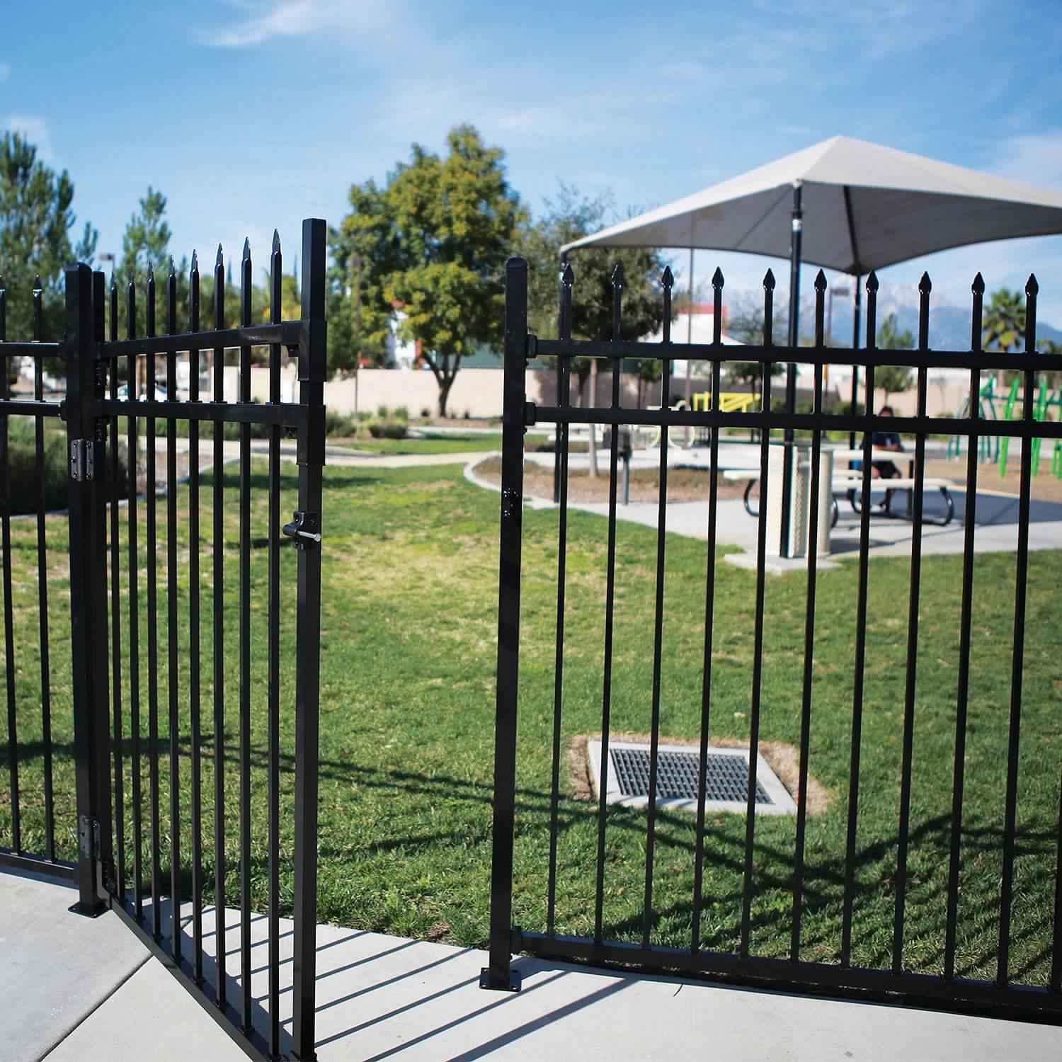 Privacy Fence Ideas-garden fence gate