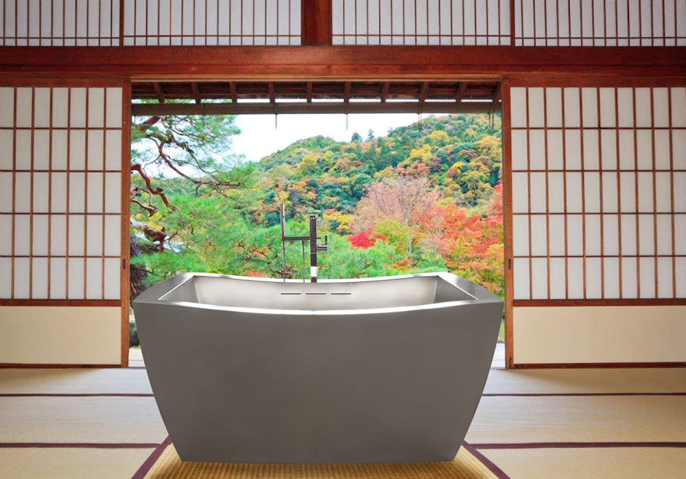 Smallest Bathtub Size-Japanese Acrylic Bathtub