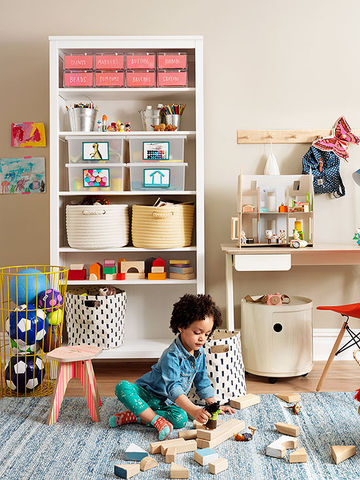 storage ideas for kids room