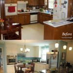 kitchen before and after UK