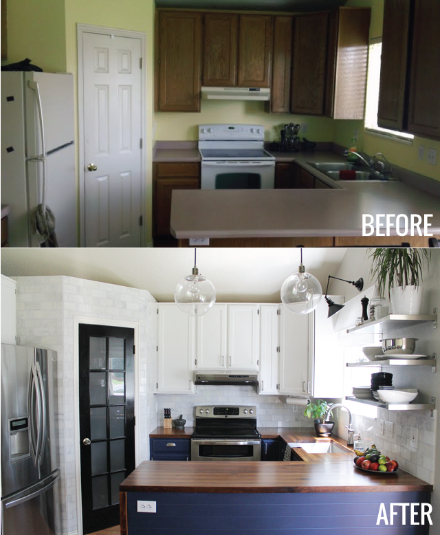 best kitchen before and after