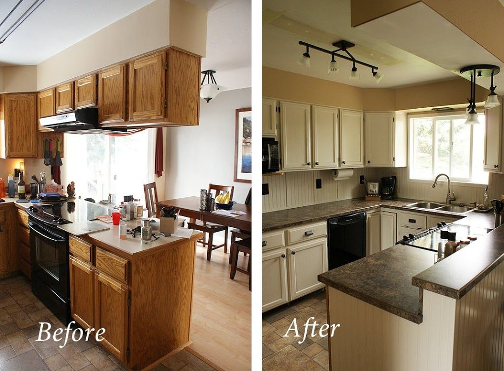 kitchen before and after makeovers
