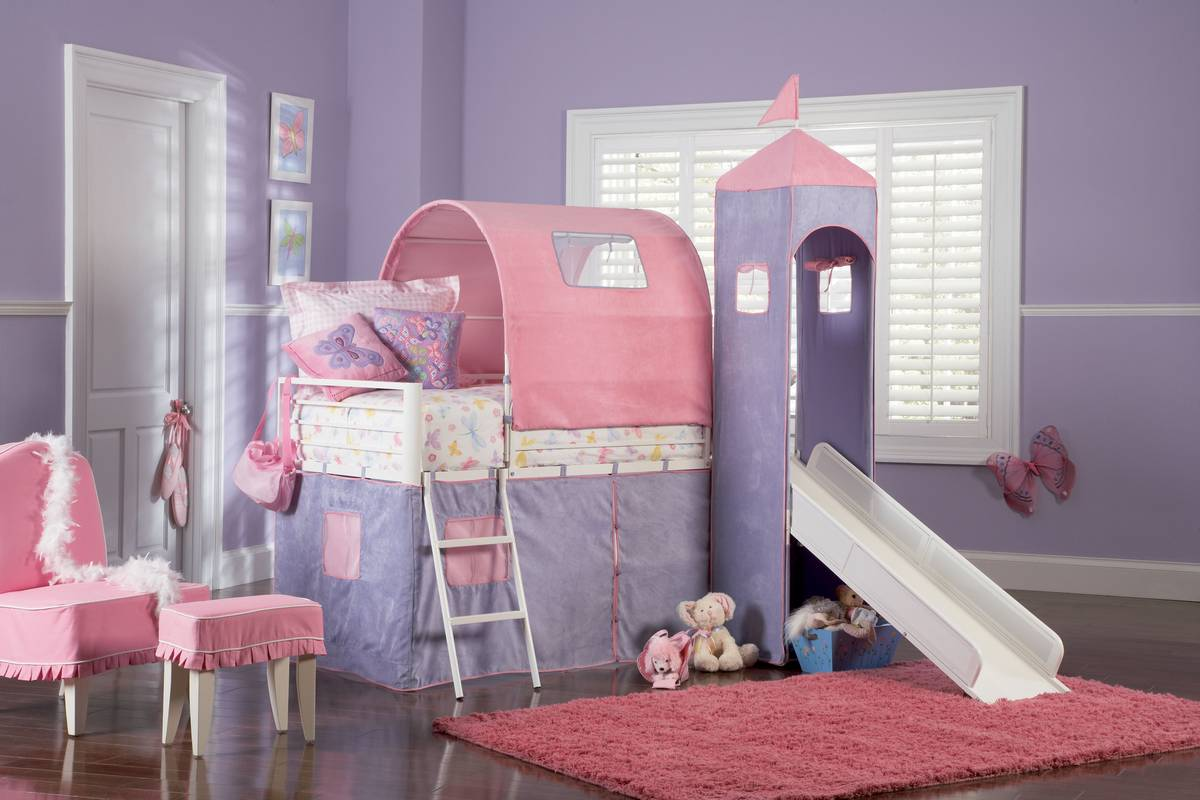 Picture of: 20 Amazing Loft Bed With Slide Designs Decor Or Design