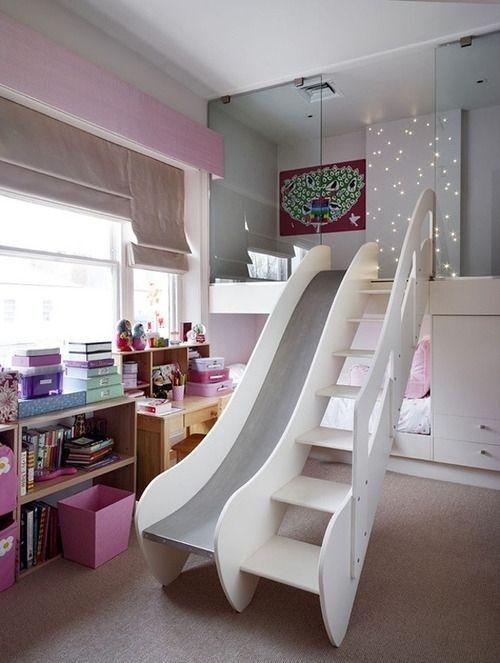 loft bed with slide for adults