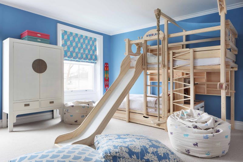 loft bed with slide ideas