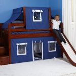 loft bed with slide pinterest