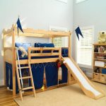 loft bed with slide designs