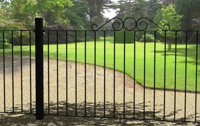 Privacy Fence Ideas-metal fence