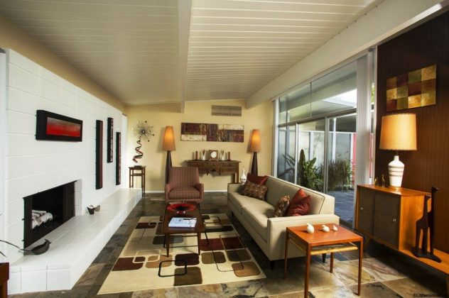 mid-century-modern-eclectic-living-room-sunroom-Shed-Modern-Large-Paint-Interior-Designers-Sprinklers