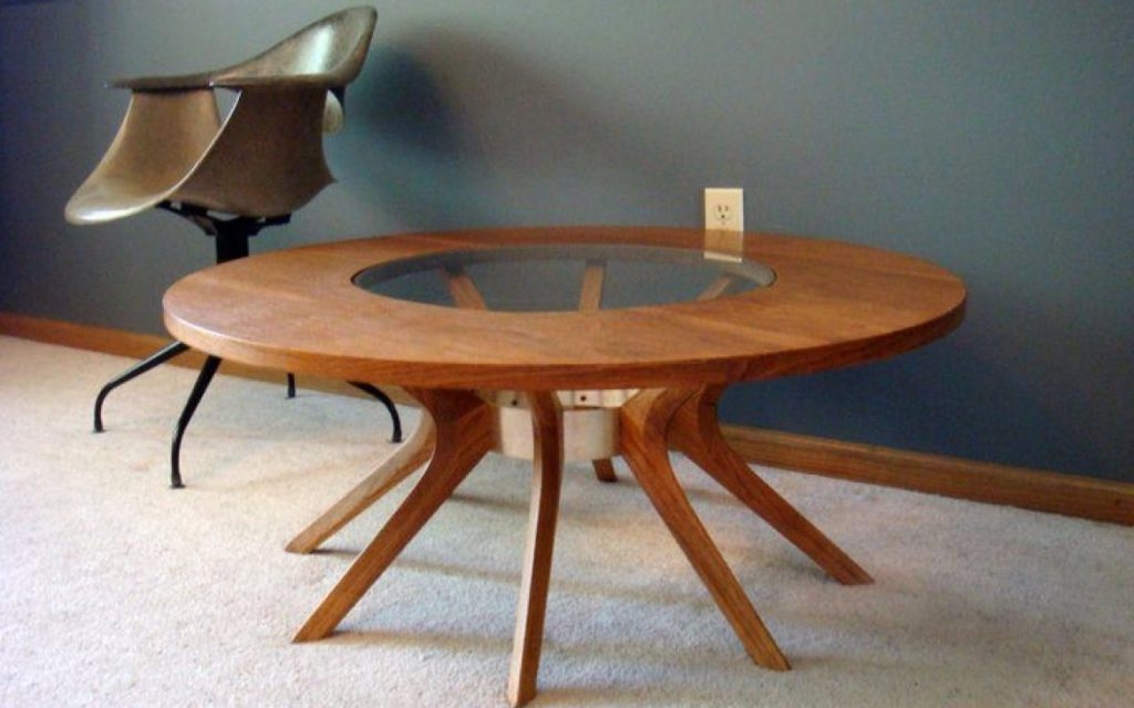 oscar niemeyer mid century living room table