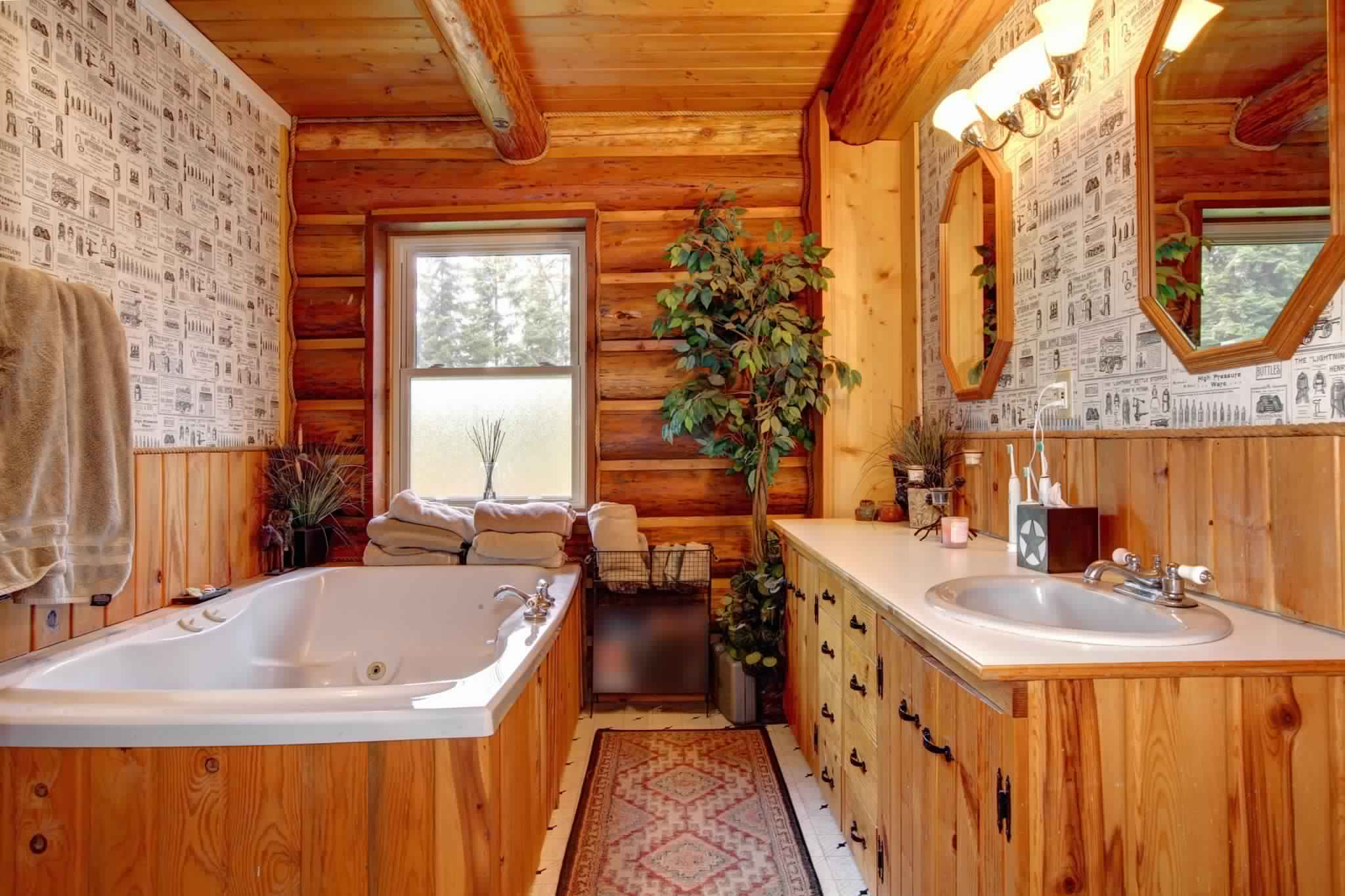 Rustic Bathroom Ideas-selecting floor finishing for bathroom