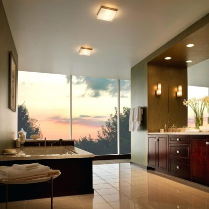 types-of-most-popular-bathroom-lighting-fixtures-recessed-and-contemporary-fixture-in-abathroom-brushed-nickel--canada