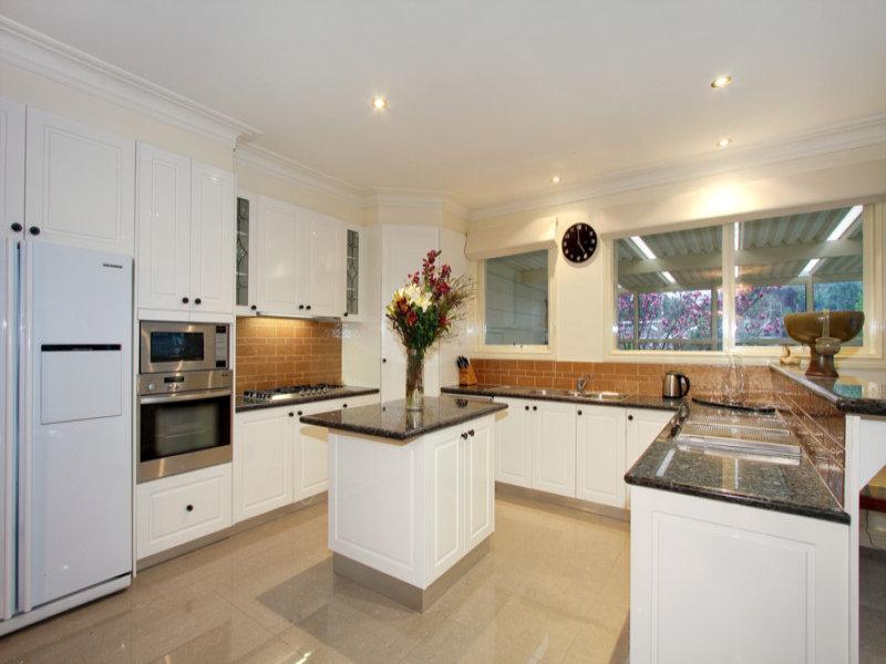 u shaped kitchen designs with island