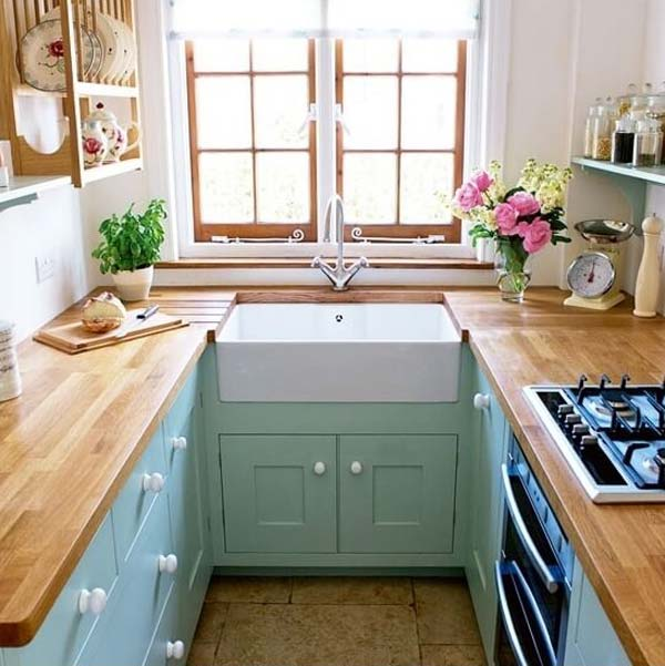 cool u shaped kitchen designs