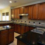 u shaped kitchen designs with small island