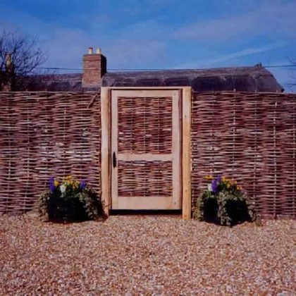 Privacy Fence Ideas-weave fence