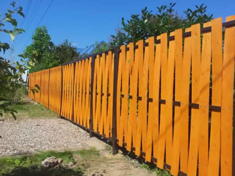 Privacy Fence Ideas-wooden fences
